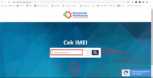 cara cek imei iphone