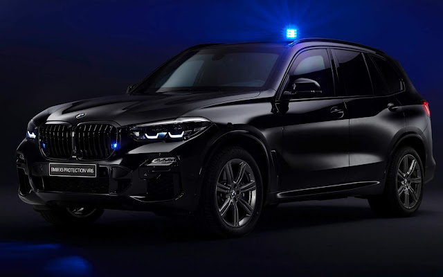 BMW X5 Protection VR6 suporta tiro de AK-47