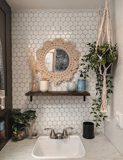 RV Bathroom Renovation under $125