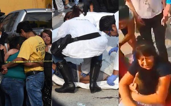 ¡Lalo, Lalo! Familiares abrazan el cadáver de ladrón abatido en CDMX, piden justicia