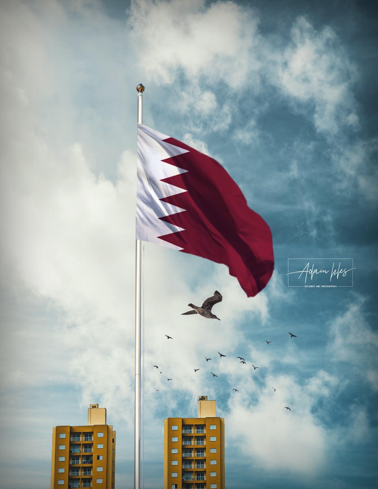 خلفية علم قطر