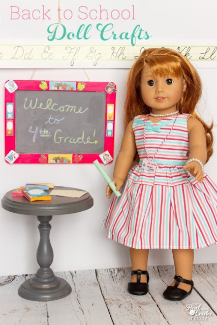 Back to School Doll Crafts