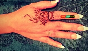 20+ Backhand mehndi designs: best simple finger henna designs to look different in event, wedding etc.