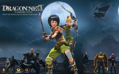 Dragon Nest - Warriors Dawn 2014 Hindi Dubbed 480p Dual Audio