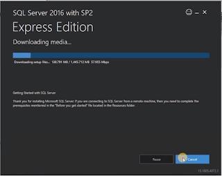 Installasi SQL Server 2016 Express