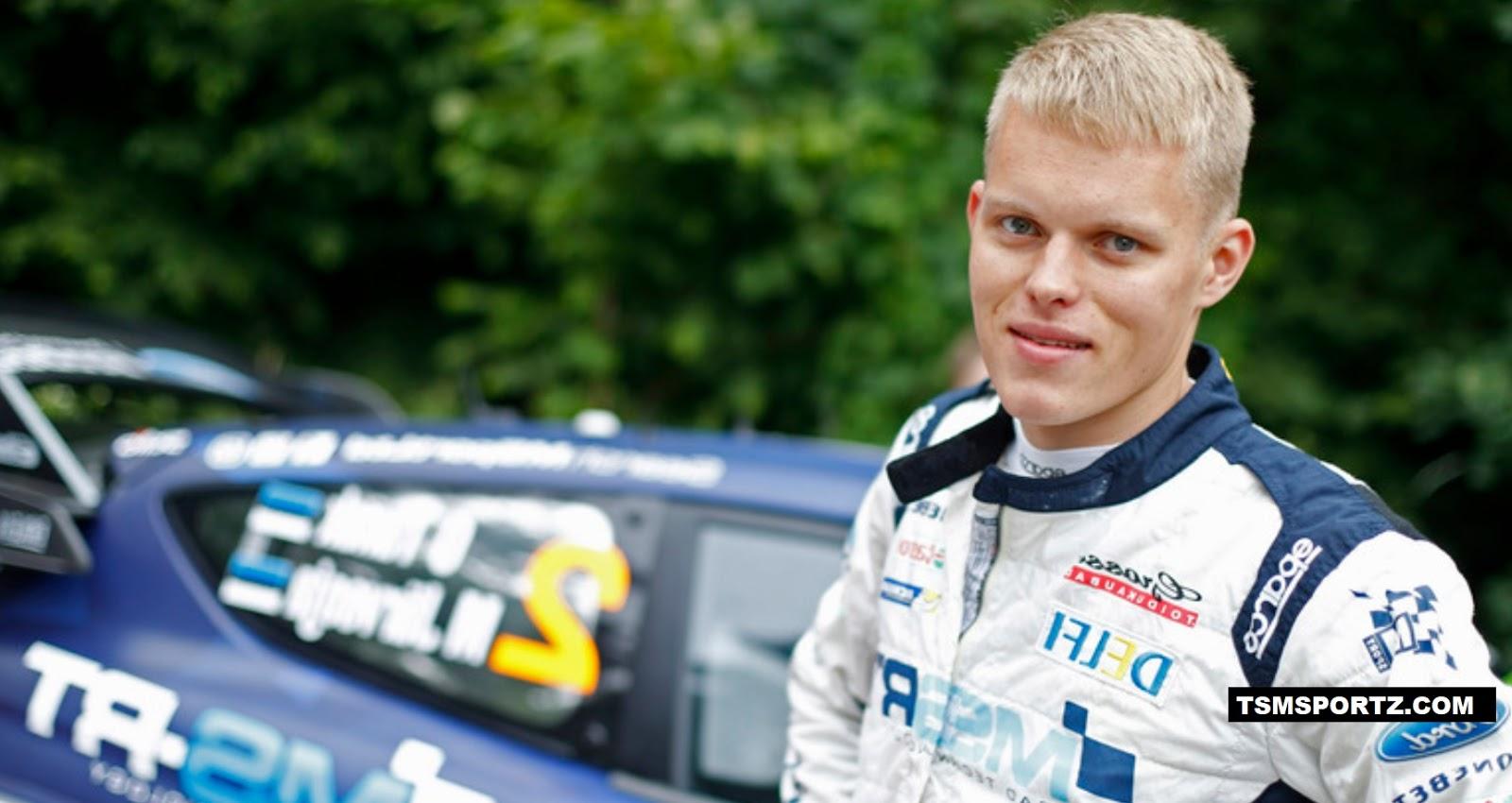 How much rich is Ott Tänak estonia wrc driver 2017