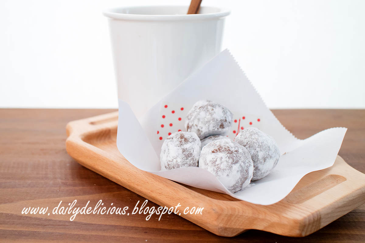 Easy Chocolate Snowball Recipe