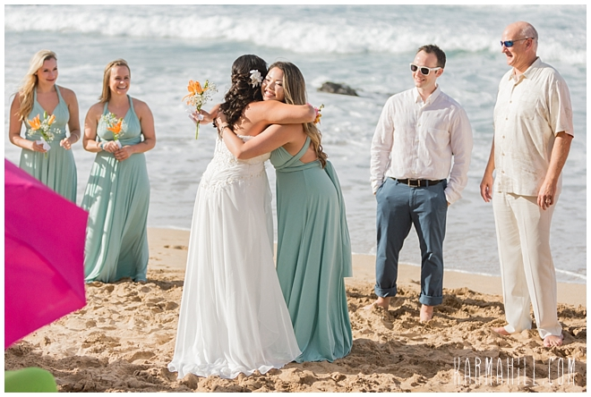 Maui Destination and Beach Wedding