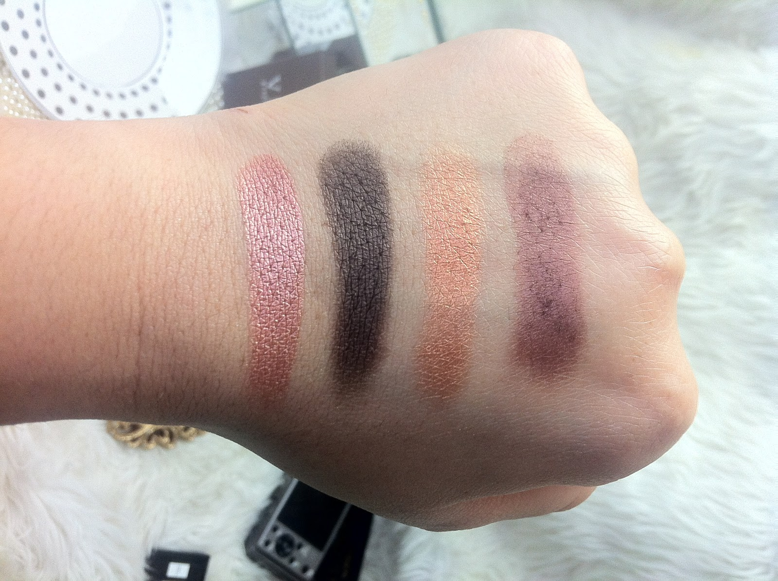 Jamey Lynn Loves Viseart Sultry Muse Palette Review Swatches 06 Paris Nudes Of 05