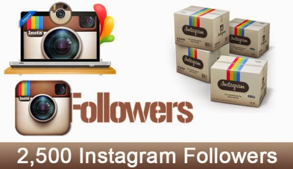 2500 Instagram Followers