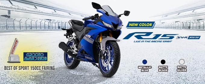 Yamaha Segarkan Tampilan YZF-R15 MY2021