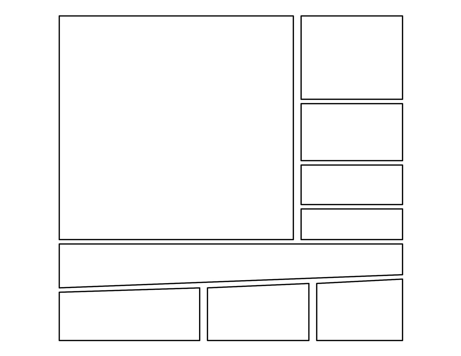 3rd Grade Second Batch Of Comic Templates