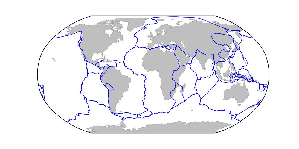 Qingkai's Blog: Using folium - 4: Draw lines (Plot San Andreas Fault)