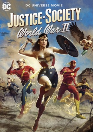 Justice Society: World War II 2021 English HDRip 720p