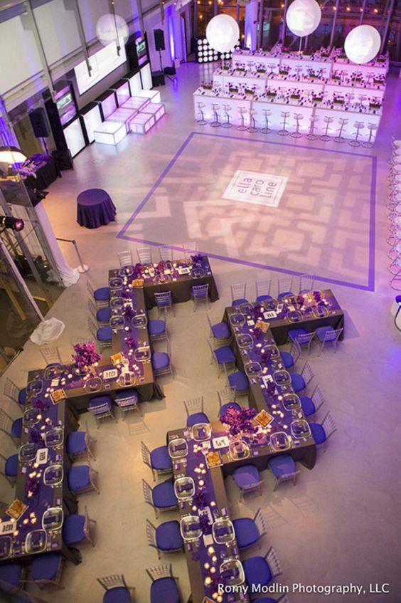 """Aisle"" Say...Unique Floor plans for Your Wedding ..."