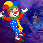 Play Games4King Cycling Clown …