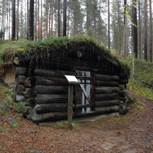 พักร่างที่ Storforsen
