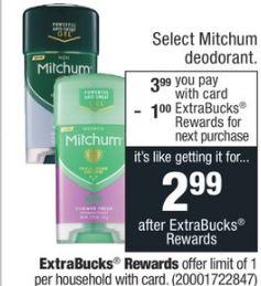Mitchum Antiperspirant