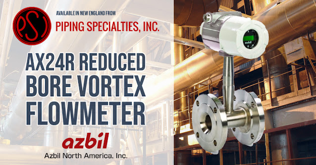 Reduced Bore Vortex Flowmeter