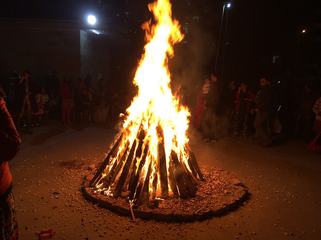 Lohri in Noida, full of Jubilancy
