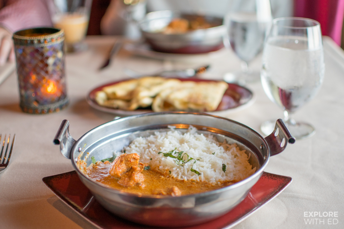 Curry on the Menu in Silk on Anthem of the Seas