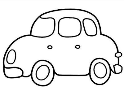 Sketsa mobil gampang banget