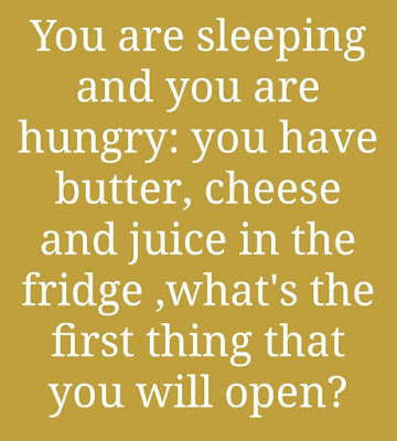 You Are Sleeping and You Are Hungry