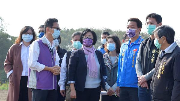 彰化河濱公園建置約六千萬 王惠美籲共同爭取中央經費