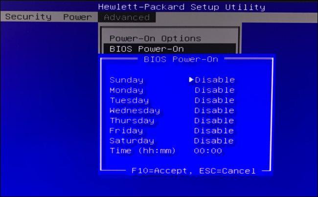 كيفية جعل جهاز الكمبيوتر يتم تشغيله تلقائياً في أوقات محددة