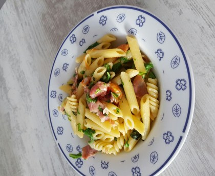 Penne with Florentine