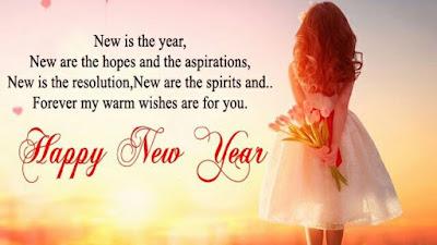 Happy New Year Shayari for Boyfriend/Girlfriend