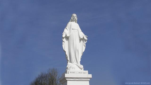 statue de la vierge à Boisset ©defrade
