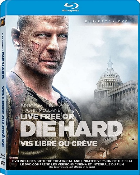 Live Free or Die Hard (2007) UNRATED 720p BluRay x265 Esubs [Dual Audio] [Hindi ORG – English] – 700 MB