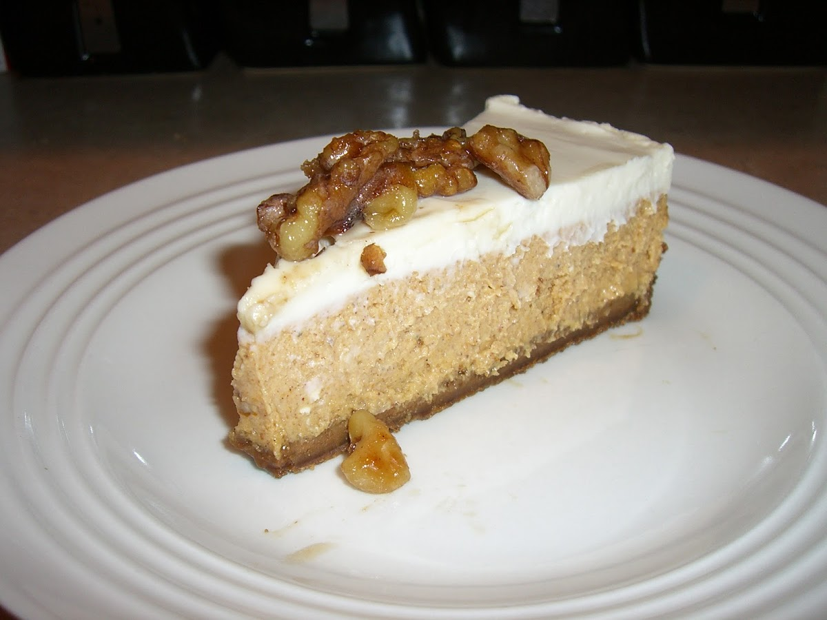 Layered Pumpkin Cheesecake