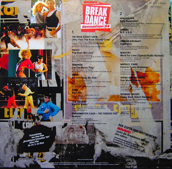 Music Rewind Va Bravo Break Dance Sensation 84 1984