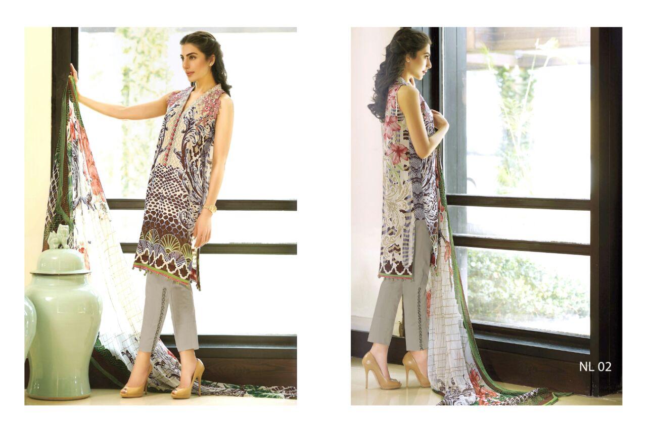 NURR VOL 2-Designer Fancy  Cotton Dress Material