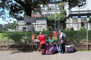 street vendor in Santiago de Puriscal