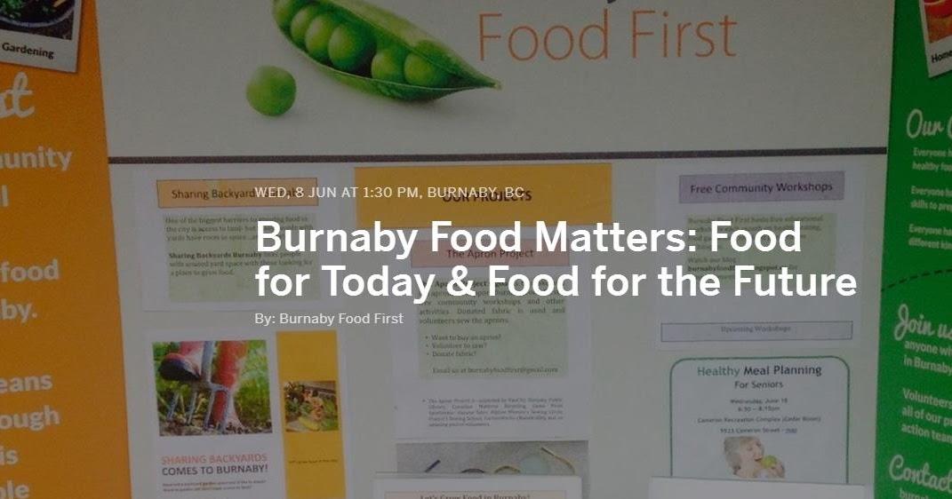 Good Food In Burnaby