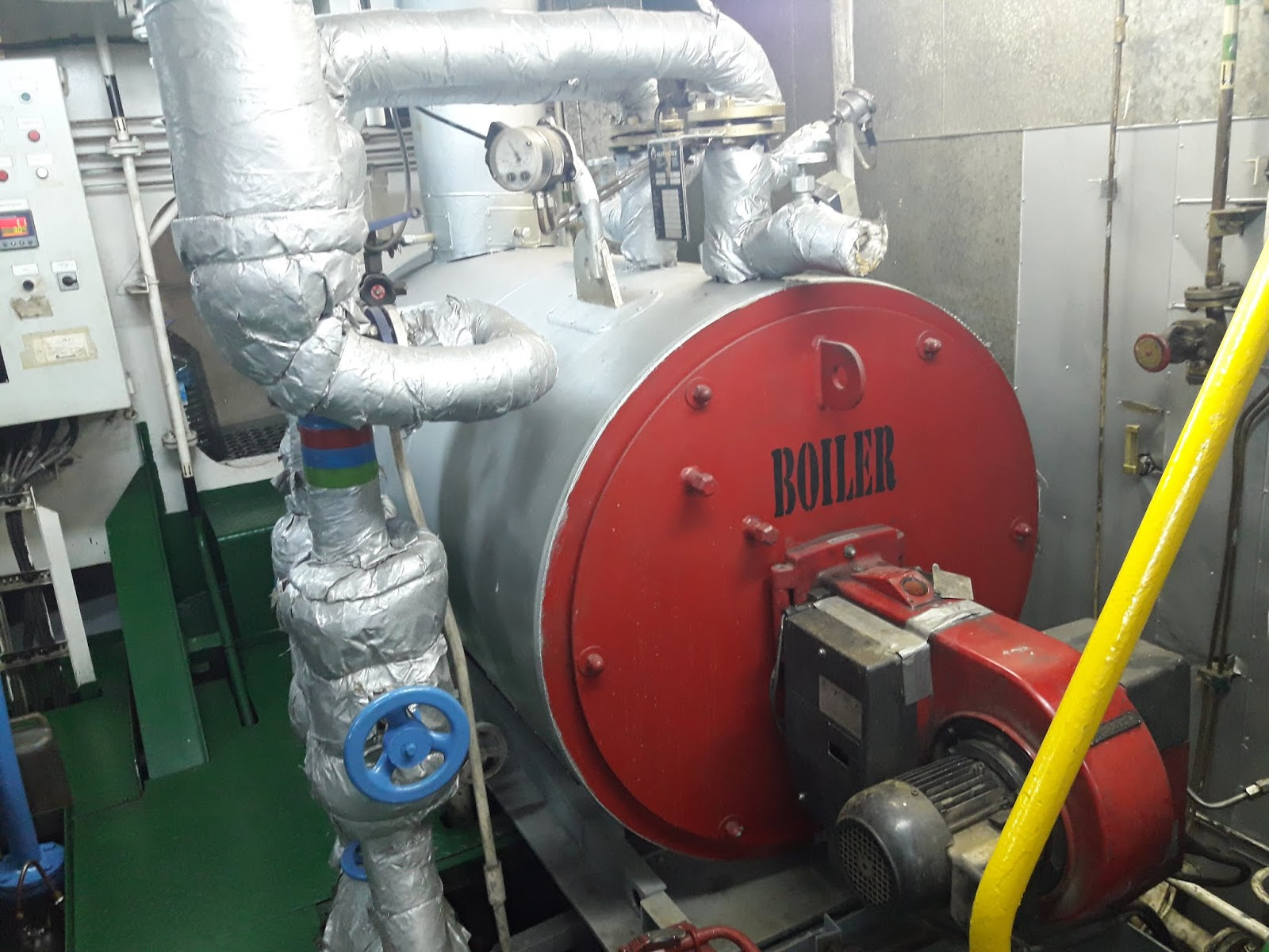 Marine Boilers Questions and Answers for MEO Class 4