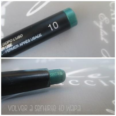 LONG LASTING de KIKO {Review & Swatches} - 10 Emerald Green