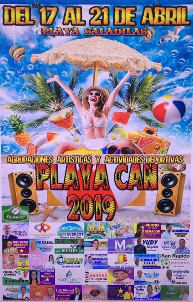 Playacan de Barahona  se realizará del 17 al 21 en Playa Saladillas