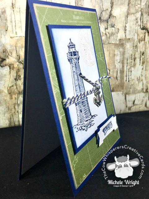 Card, Sailing Home, Come Sail Away Designer Series Paper, Sail Away Trinkets