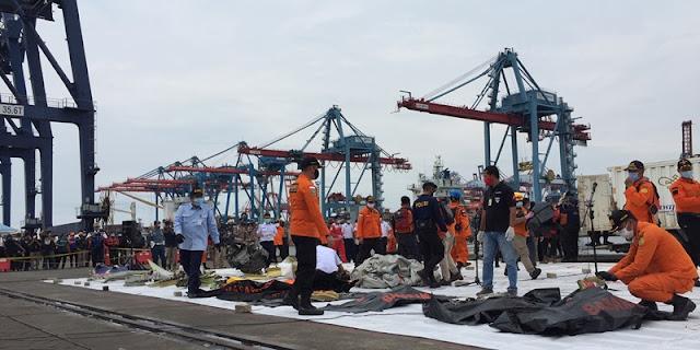 47 Korban Sriwijaya Air Teridentifikasi, Berikut Nama-namanya