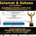 Ayo Dukung Agusliayana Devita Sebagai Peraih @AnugerahASN2020