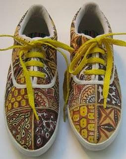 Batik Unik Sepatu