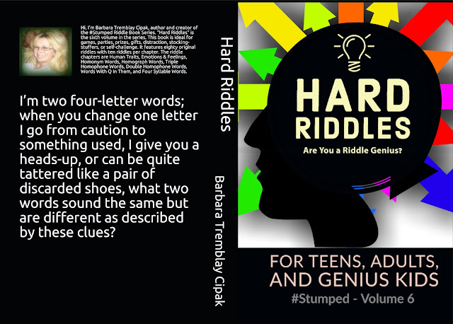 Hard Riddles - #Stumped Volume 6