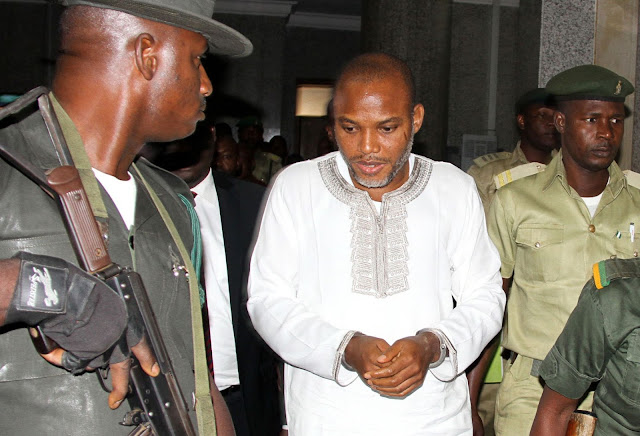 """""""Catch him if you can"""": Abuja Federal High Court to Recommence Treason Trial of IPOB's Nnamdi Kalu in Absentia"""