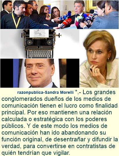 Las mentiras oficiales y los medios de comunicación en Colombia