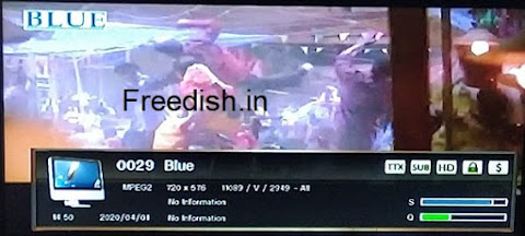 Blue channel Frequency, Blue Hindi Movie channel, Blue channel number, Blue Movie channel
