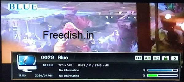 Dhinchaak channel Hindi movie channel added on DD Free Dish